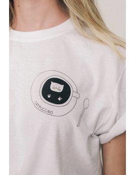Mimi Hammer Catpuccino T-Shirt