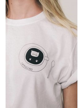 Mimi Hammer T-Shirt Catpuccino