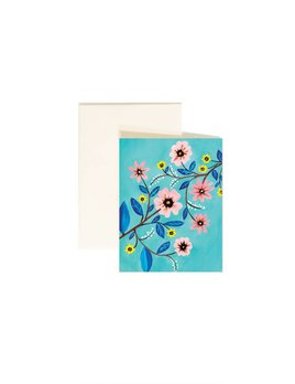Paige and Willow Floral Greeting Card