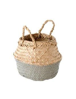 Indaba Grey Baby Basket