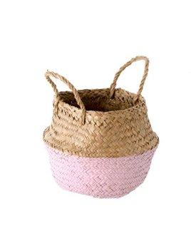 Indaba Pink Baby Basket