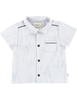 Carrément Beau White Striped Shirt