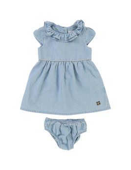 Carrément Beau Denim Dress Set (Kid)