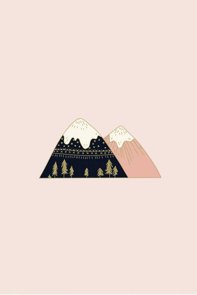 Mimi Hammer Épinglette Mont Everest
