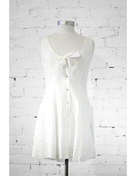 Somedays Lovin White Embroidery Dress