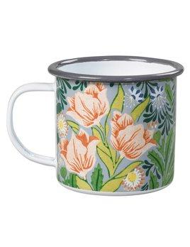 Wild&Wolf Floral Enamel Mug