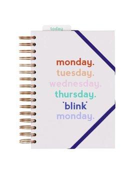 Wild&Wolf Monday Blink Planner
