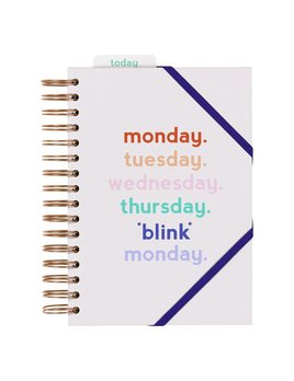Wild&Wolf Planificateur Monday Blink