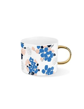 Fringe Studio Tasse Bouquet Bleu