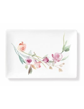 Fringe Studio Abstract Floral Tray