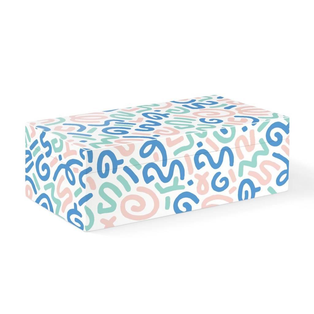 Fringe Studio Pastel Squiggles Box