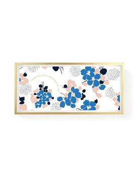 Fringe Studio Blue Flowers Tray