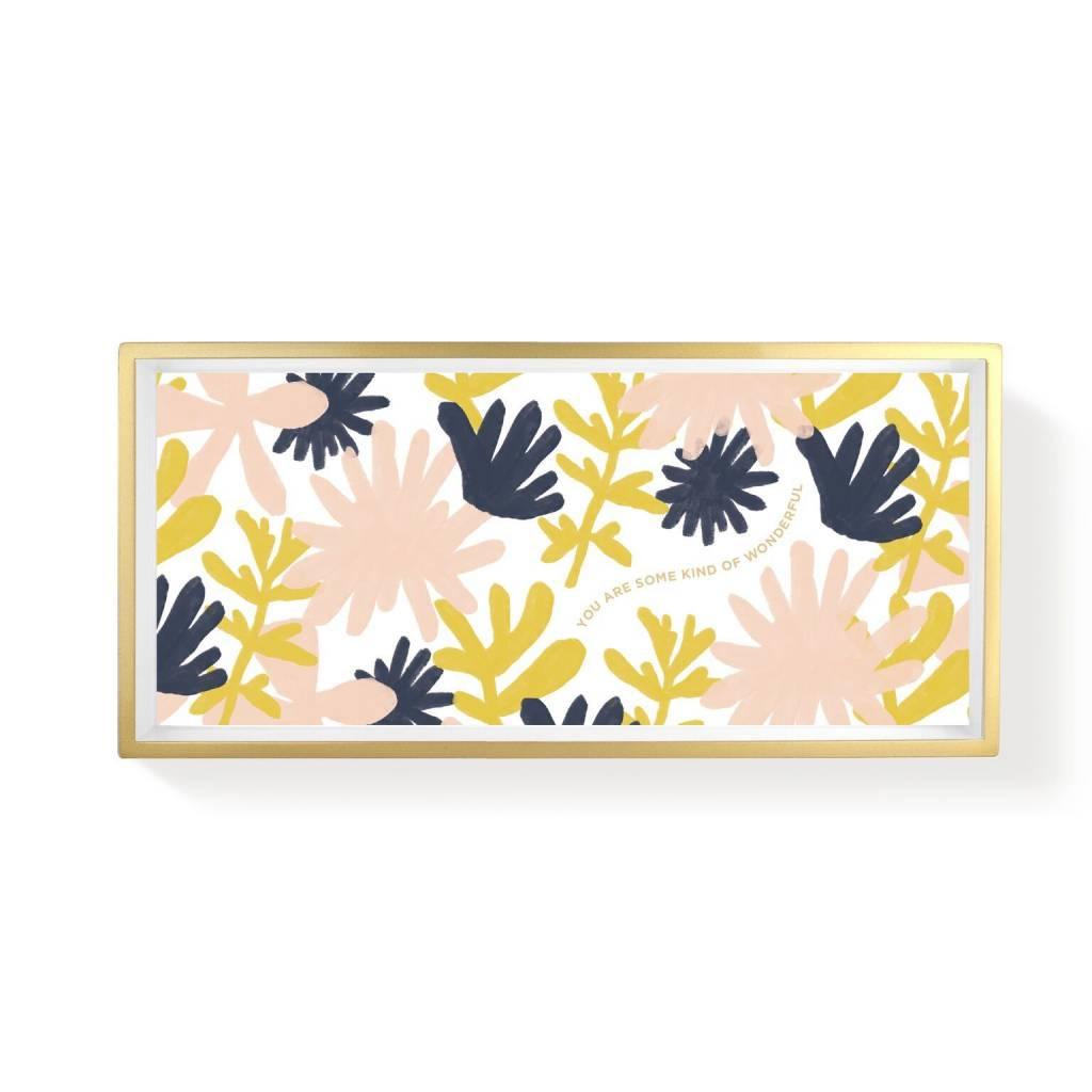Fringe Studio Floral Desert Tray