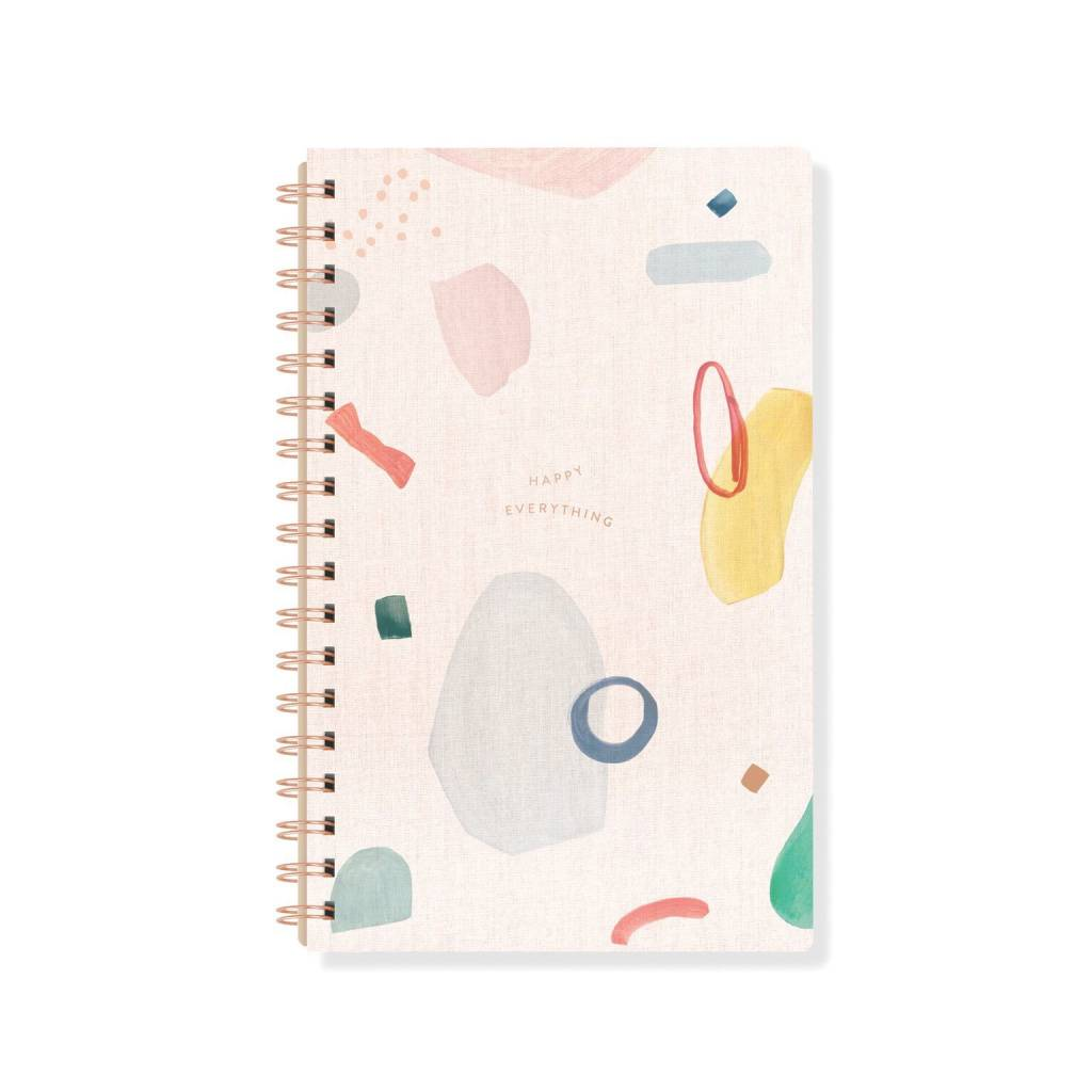 Fringe Studio Colorful Abstract Notebook