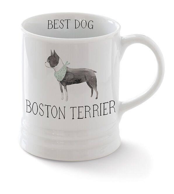 Fringe Studio Boston Terrier Mug