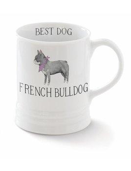 Fringe Studio French Bulldog Mug