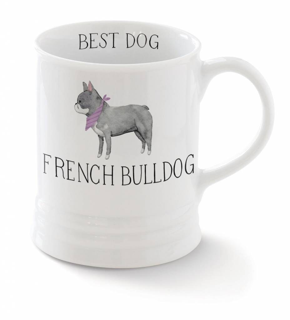 Fringe Studio French Bulldog Mug