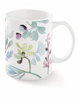 Abstract Floral Mug