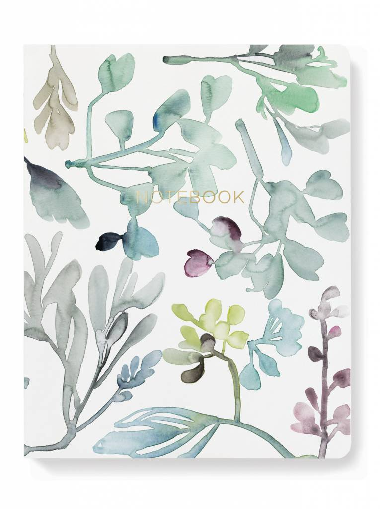 Fringe Studio Abstract Floral Journal