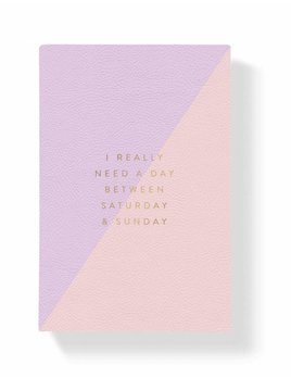 Fringe Studio Pink and Lilac Notepad