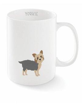 Fringe Studio Happy Yorkie Mug