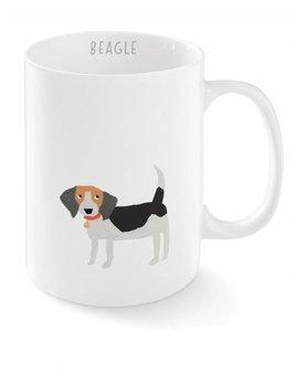 Fringe Studio Tasse Beagle Joyeux