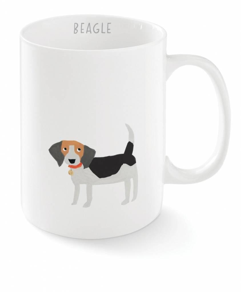 Fringe Studio Happy Beagle Mug