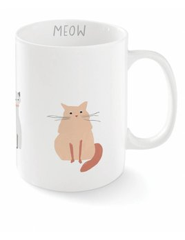 Fringe Studio Happy Cat Mug