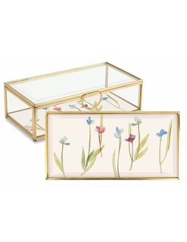 Fringe Studio Floral Stem Glass Box