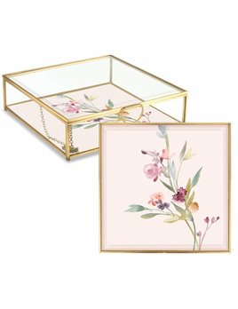 Fringe Studio Garland Floral Glass Box