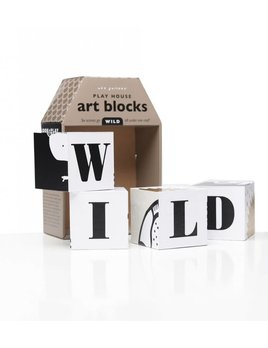 Wee Gallery Playhouse Art Blocks WILD