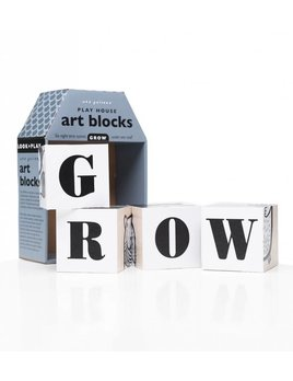 Wee Gallery Playhouse Art Blocks GROW
