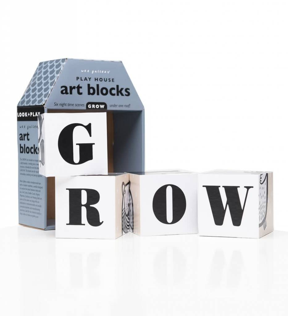 Wee Gallery Playhouse Art Blocks GROW