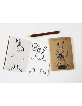 Wee Gallery Activity Book Dress up Bunny