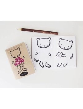 Wee Gallery Activity Book Dress up Cat