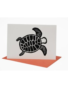 Wee Gallery Turtle Greeting Card