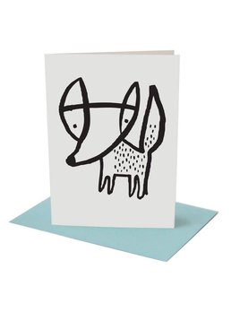 Wee Gallery Fox Greeting Card