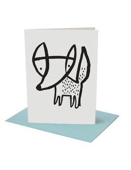 Wee Gallery Fox Greeting Card