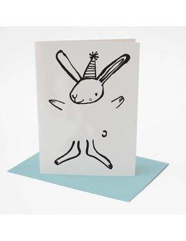 Wee Gallery Carte de Souhaits Lapin à dessiner