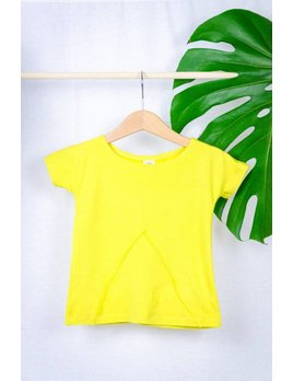 O'lou T-shirt Triangle Jaune