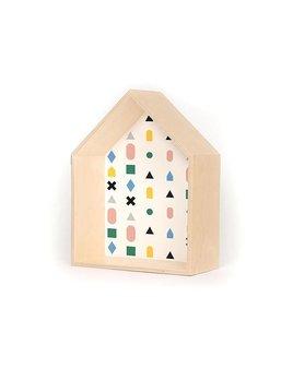 A D ZIF Étagère Maison Multicolor