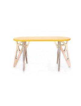 Gautier Studio Yellow Twin Bench
