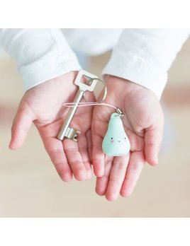 Little Lovely Mint Pear Charm