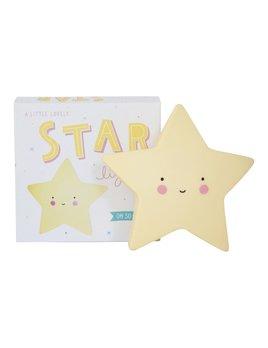 Little Lovely Yellow Star Night Light