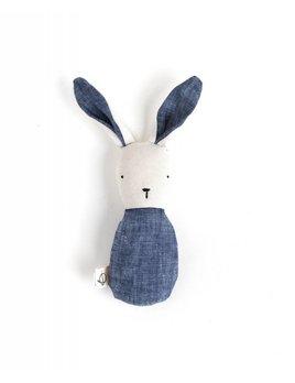 Indigo Bunny Rattle
