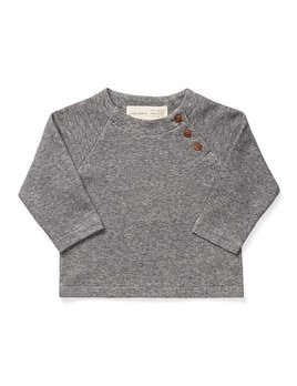 Petit Atelier B Heather Grey Top