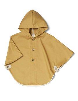 Petit Atelier B Mustard Cape Coat