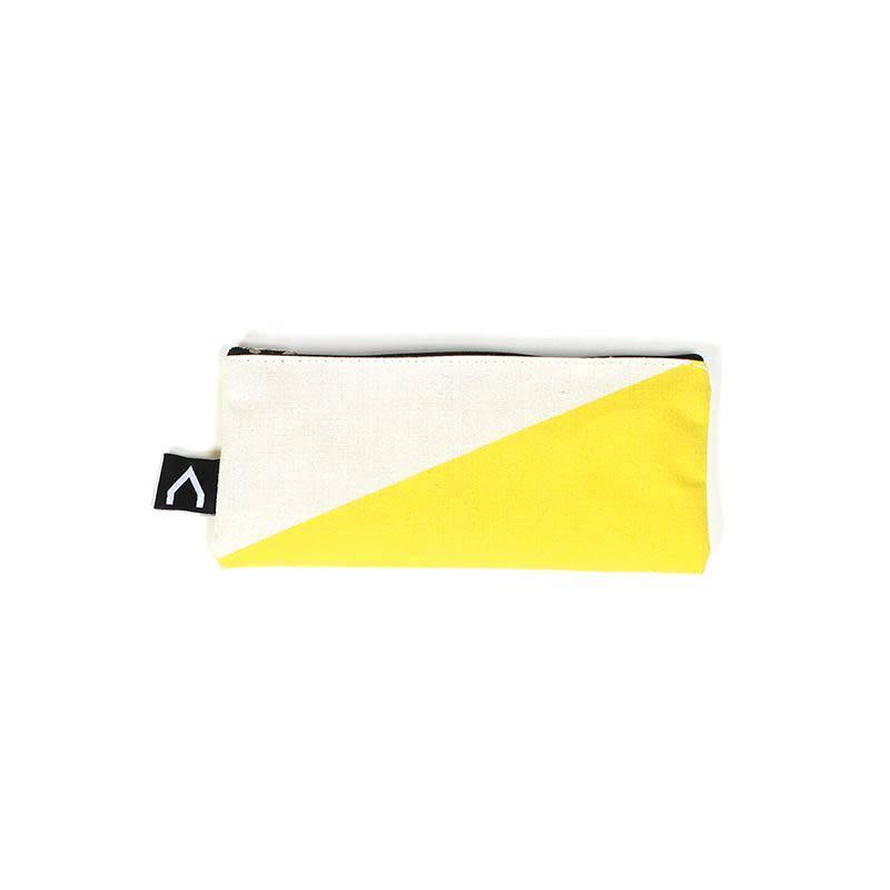 A D ZIF Yellow Salsa Pencil Case