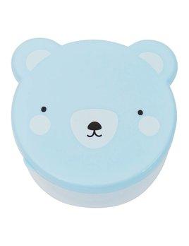 Little Lovely Blue Bear Snack Box