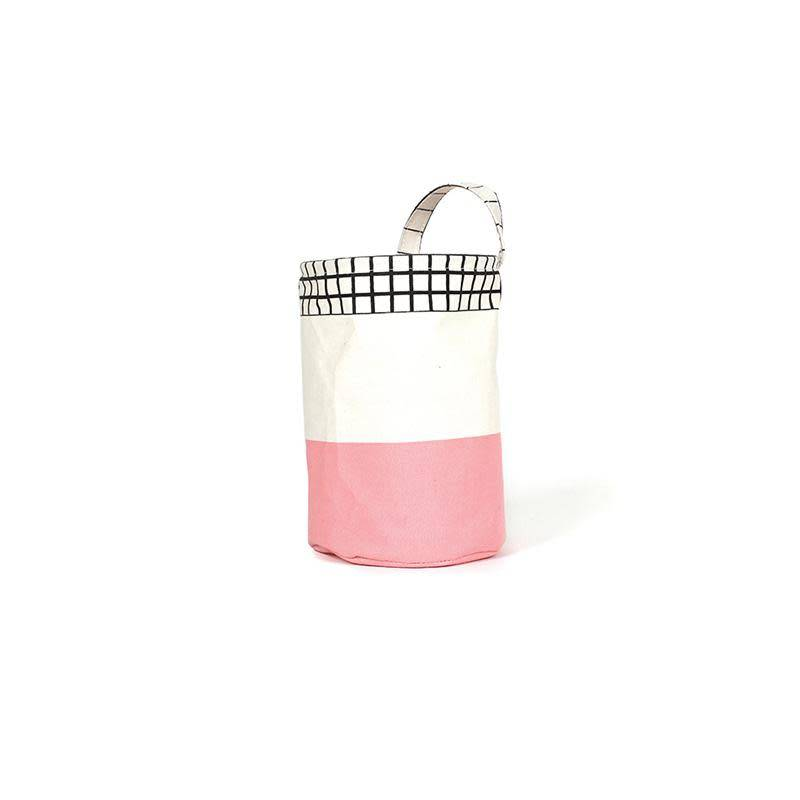 A D ZIF Pink Round Ole Basket